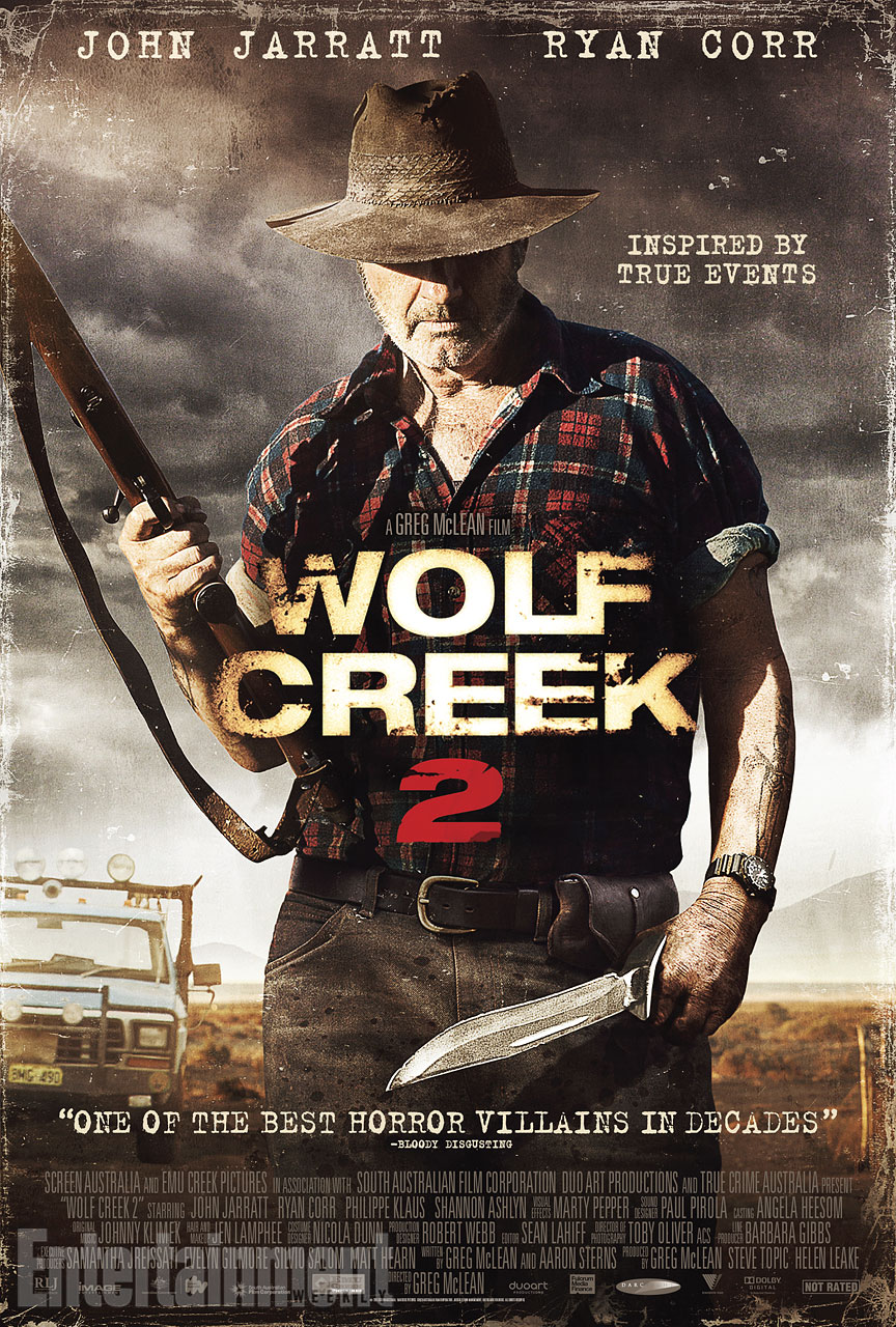 WOLF CREEK 2 movie poster -- exclusive EW.com image